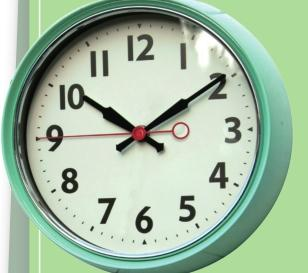 """Why is the stopped clock second hand always at the """"9"""" position"""