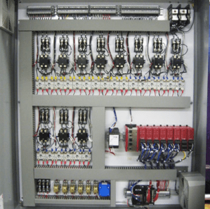 extrusion control panel for plastic manufacturing