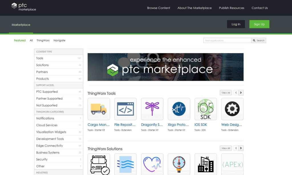 PTC marketplace