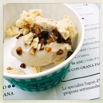 Pasticceria Caprice Perscara - gelato noccioline di chivasso