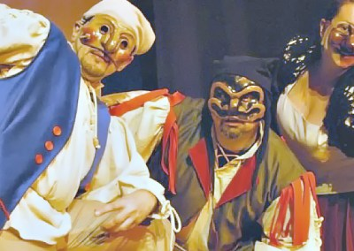 Le maschere di carnevale abruzzesi.