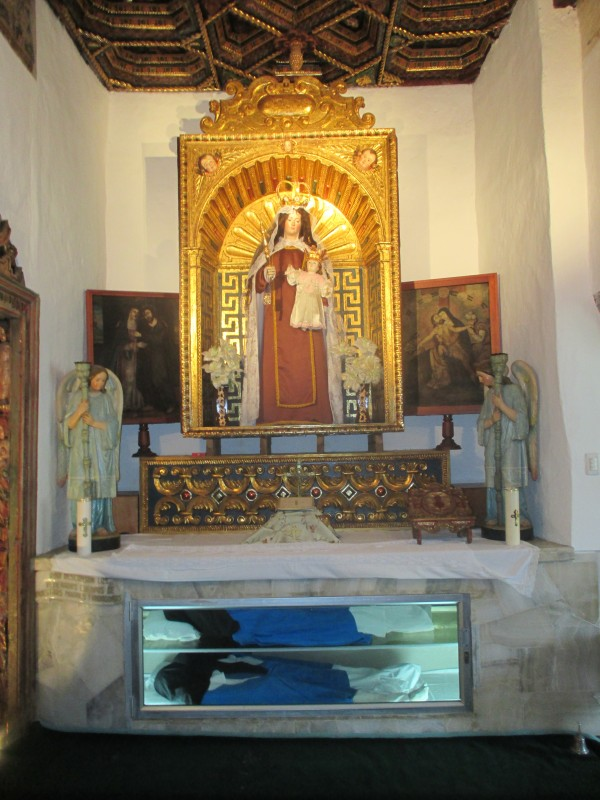 Private Chapel of the Convent Containing the Incorrupt Bodies of Three of the Founding Sisters