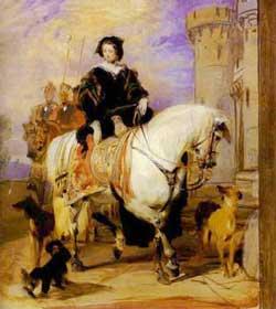 horse-side saddle-1700's