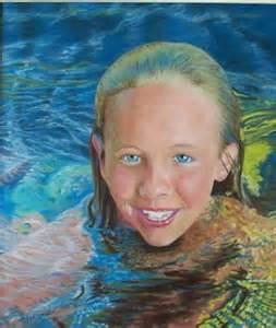 Pastel-girl swimmer