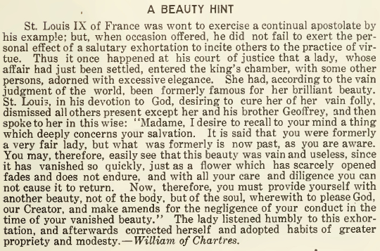 A Beauty Hint - January 1917