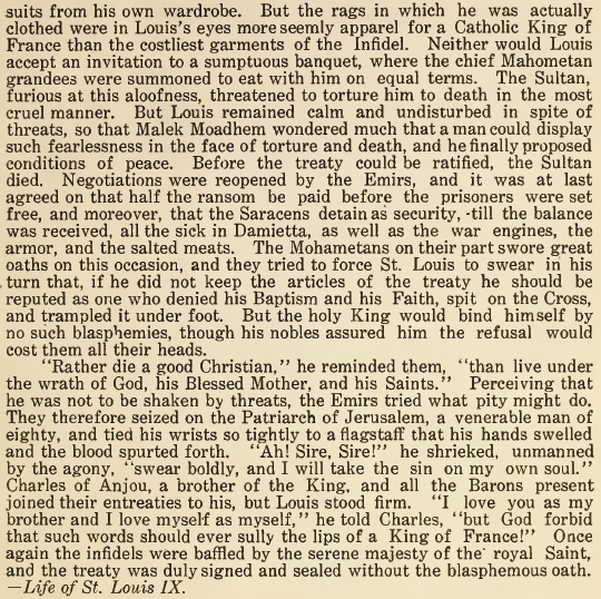 St. Louis IX, The Proudest of Christians 02 - August 1916