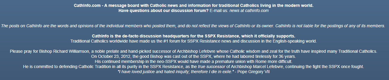 Neo-SSPX | Ecclesia Militans
