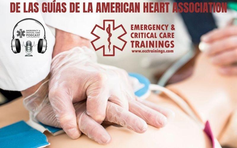 La American Heart Association publicó la actualización 2020 de las guías de la AHA el 21 de octubre del 2020 las nuevas recomendaciones para atención cardiovascular de emergencia.