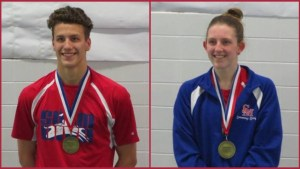 """Swimmers earn """"gold"""" at District 9 meet"""