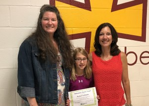 Student completes summer Accelerated Math program