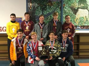 """Crusader cross country team brings home D9 """"A"""" title"""