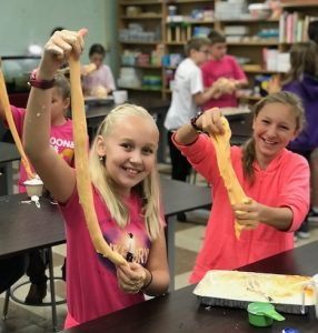 "Fifth graders make ""slimy"" science experiment"