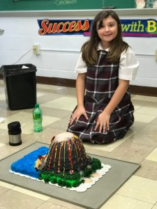 """Elementary school students have a """"blast"""" with volcanoes in science class"""