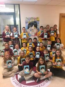 Fifth graders read NY Times best-seller during first quarter