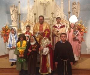 St. Leo Catholic School celebrates All Saints' Day with special Mass