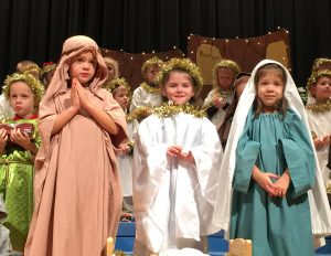 Preschool students remind us that Jesus is the reason for the season
