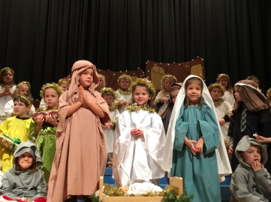 St. Marys Catholic Elementary Preschool Christmas Pageant