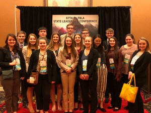 ECCHS students attend FBLA State Leadership Conference
