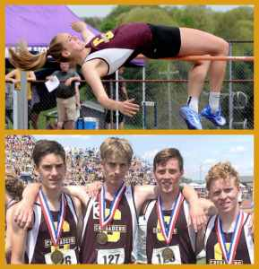 Congratulations to our track and field state medalists!