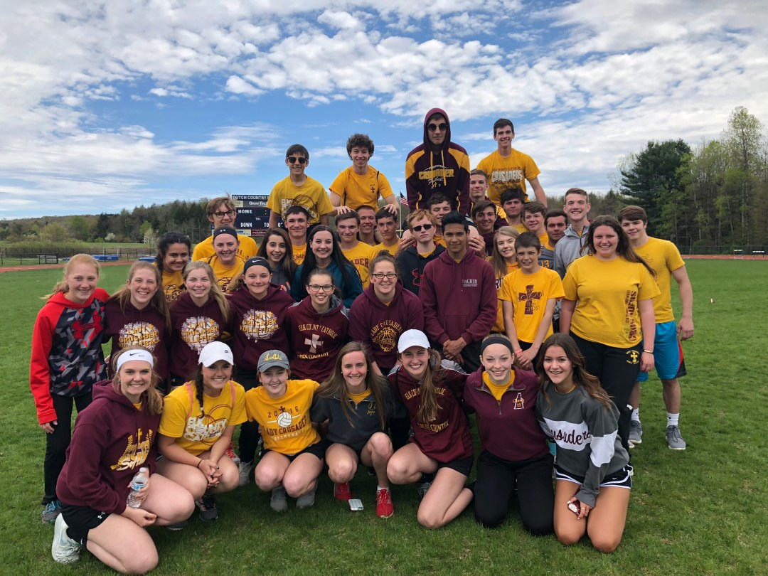ECCSS students help out at Special Olympics