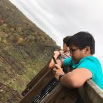 International Student Club visits Kinzua Sky Walk