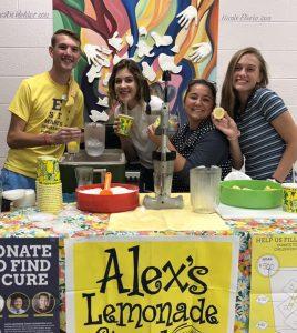 ECC FBLA Club holds fundraiser for Alex's Lemonade Stand