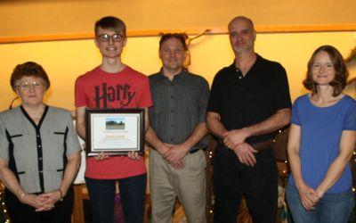 "ECC senior receives Kreckel Enterprises ""Student of the Year"" Award"