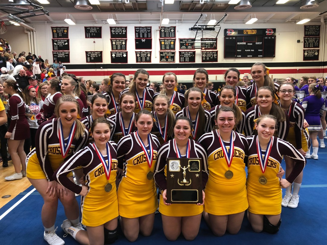 ECC Competitive Spirit team brings home D9 title