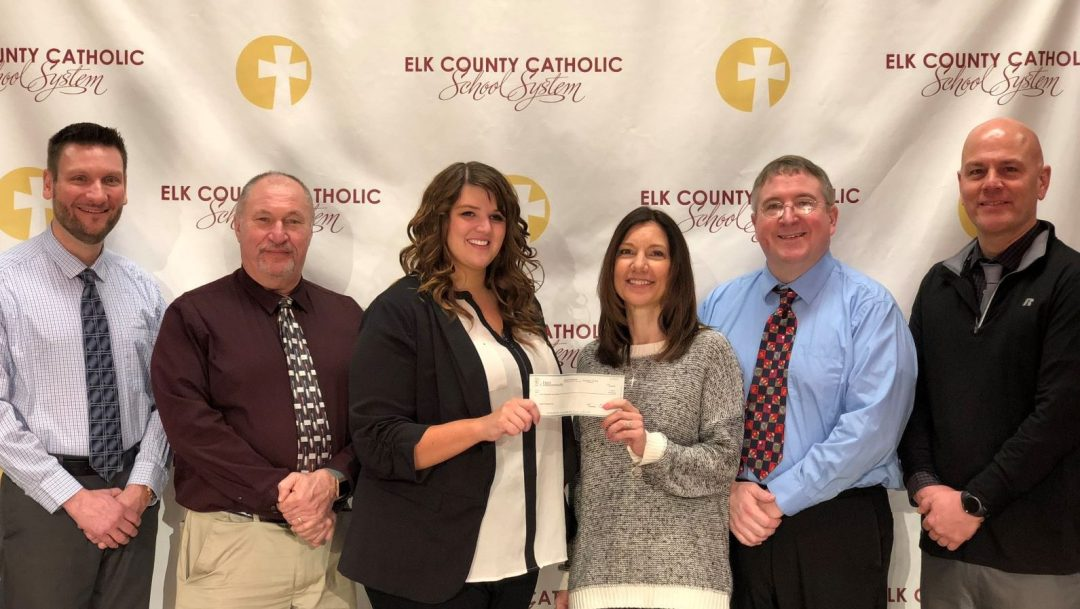 First Commonwealth Bank makes contribution to benefit ECCSS