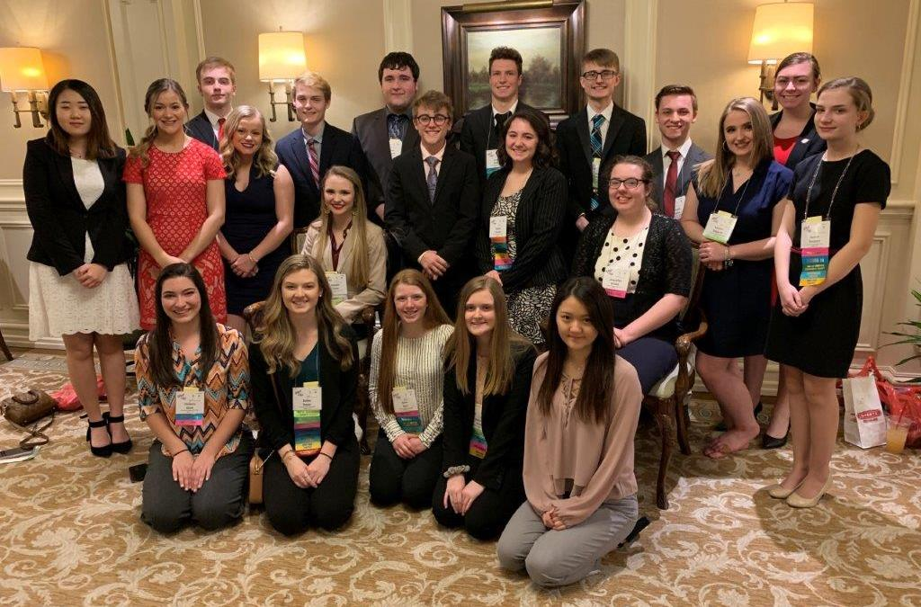 ECC FBLA Chapter fares well at State Leadership Conference