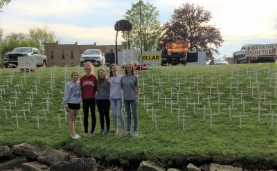 ECC Students for Life club creates pro-life display