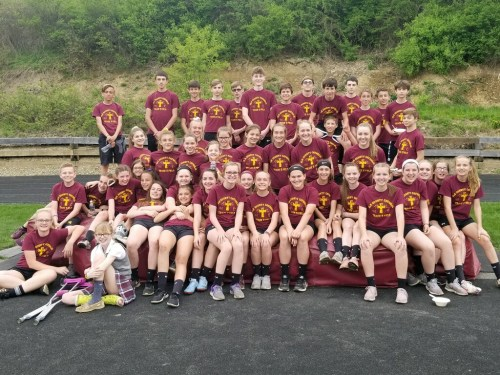 Junior high track and field team concludes 2019 season