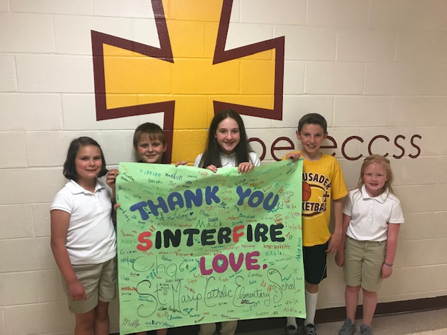 Thank you to Sinterfire, Inc.