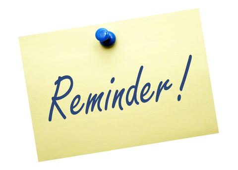 Reminder Tuition Payment Arrangements due 7/31/19