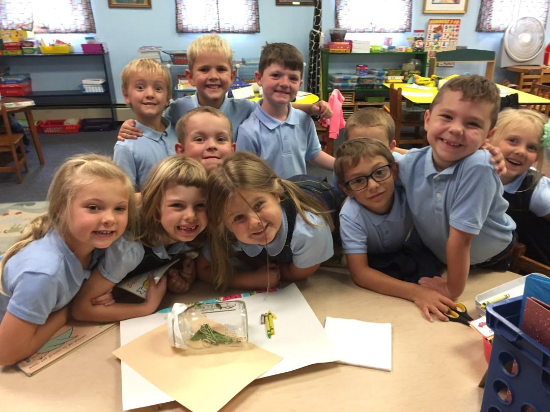 St. Leo's Kindergarten new Nature Studies Class!