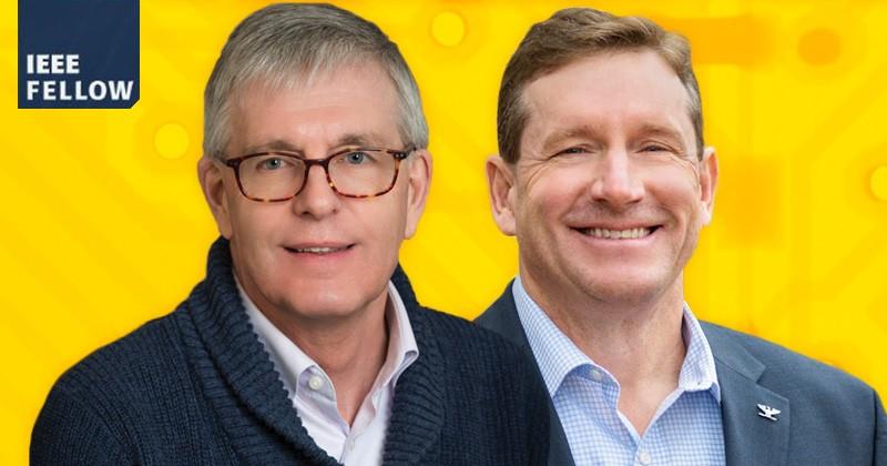 UD Professor Rudolf (Rudi) Eigenmann and Professor Dennis Prather