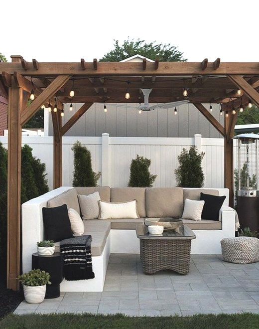 modern patio design idea ecemella