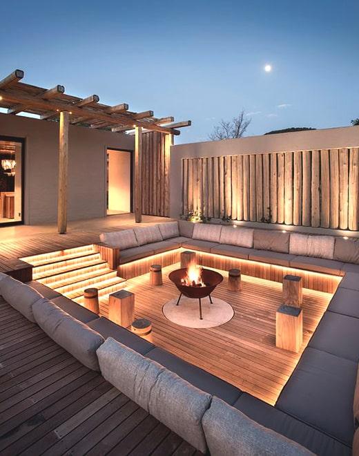 modern patio ideas ecemella