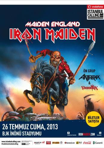 iron maiden afiş poster