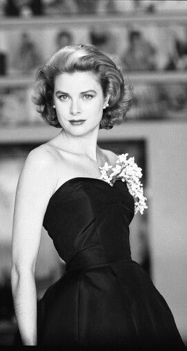 grace kelly in black