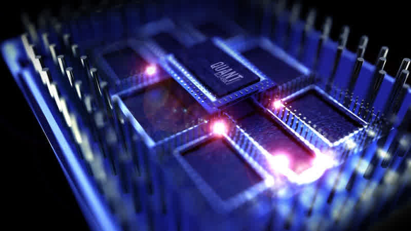 quantum computers and electricity