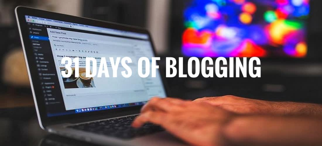 31-days blogging