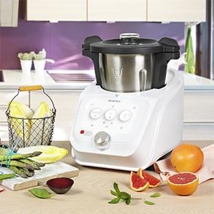 beaba babycook solo robot cuiseur mixeur gris