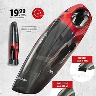 audew aspirateur a main sans fil aspirateur de voiture portable 120w 2200mah avec fonction huimide seche filtre hepa lavable et 3 buses rechargeable