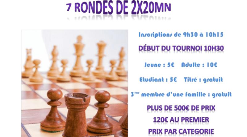 Affiche Rapide Saint-Georges