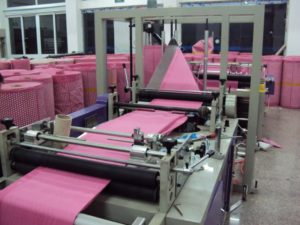 Automatic Non Woven Cutting Machine