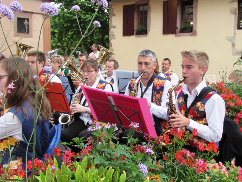 Pupitre des saxophones