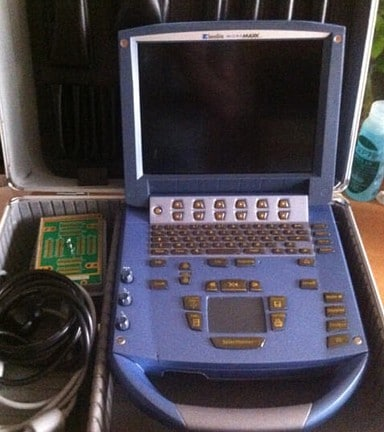 Echographe Sonosite micromaxx et sa valise
