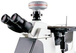 microscope metallurgique inversé 1