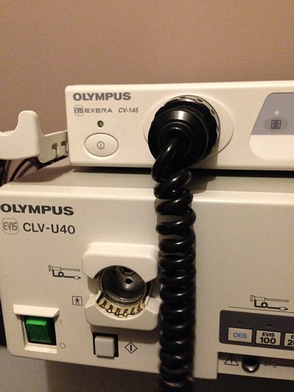Olympus CV-145 et CLV-U40 detail